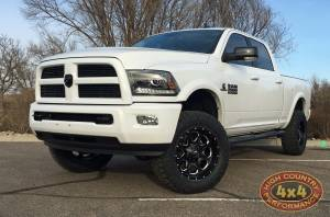 RAM - DODGE RAM 2500/3500 PICKUP TRUCKS (2014-2018) - HCP 4x4 Vehicles - 2016 RAM 2500 READYLIFT LEVELING KIT ON NITTO RIDGE GRAPPLER TIRES (BUILD#78615)