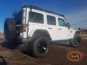 "HCP 4x4 Vehicles - 2018 JEEP WRANGLER JLR MOPAR 2"" SUSPENSION WITH MOPAR LEDS AND SPARE TIRE CARRIER (BUILD#85389) - Image 4"