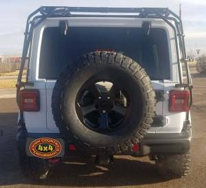 "2018 JEEP WRANGLER JLR MOPAR 2"" SUSPENSION WITH MOPAR LEDS AND SPARE TIRE CARRIER (BUILD#85389)"