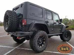 "2017 JEEP JKUR AEV 3.5"" SUSPENSION WITH  35"" NITTO TRAILGRAPPLER M/T TIRES (BUIILD#80431)"