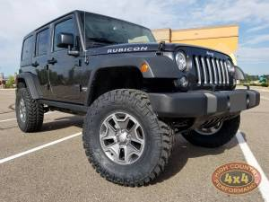 "2017 JEEP JKU AEV 3.5"" SUSPENSION ON 35"" NITTO TRAILGRAPPLER TIRES (BUILD#82535)"