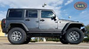 "HCP 4x4 Vehicles - 2017 JEEP JKU AEV 3.5"" SUSPENSION ON 35"" NITTO TRAILGRAPPLER TIRES (BUILD#82535) - Image 3"