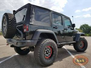 "2017 JEEP JKUR AEV 3.5"" SUSPENSION WITH AEV TIRE CARRIER (BUILD#82744/82361)"