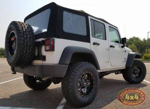 "HCP 4x4 Vehicles - 2017 JEEP JKU AEV 2.5"" SUSPENSION ON 35"" TOYO OPEN COUNTRY ATII TIRES (BUILD#82299) - Image 4"