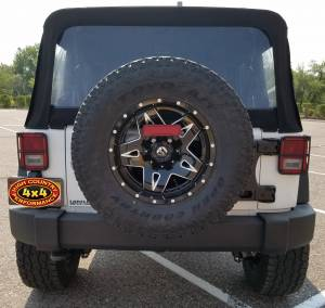 "HCP 4x4 Vehicles - 2017 JEEP JKU AEV 2.5"" SUSPENSION ON 35"" TOYO OPEN COUNTRY ATII TIRES (BUILD#82299) - Image 5"
