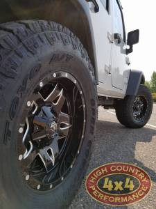 """2017 JEEP JKU AEV 2.5"""" SUSPENSION ON 35"""" TOYO OPEN COUNTRY ATII TIRES (BUILD#82299)"""