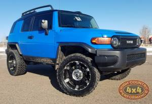 "HCP 4x4 Vehicles - 2007 TOYOTA FJ CRUISER TOYTEC 3"" ULTIMATE SUSPENSION WIT TOTAL CHAOS UCA'S (BUILD#85274)"