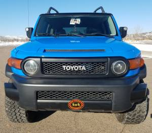 "HCP 4x4 Vehicles - 2007 TOYOTA FJ CRUISER TOYTEC 3"" ULTIMATE SUSPENSION WIT TOTAL CHAOS UCA'S (BUILD#85274) - Image 2"