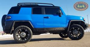 "HCP 4x4 Vehicles - 2007 TOYOTA FJ CRUISER TOYTEC 3"" ULTIMATE SUSPENSION WIT TOTAL CHAOS UCA'S (BUILD#85274) - Image 3"
