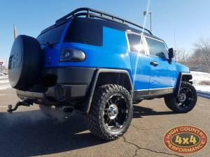 "2007 TOYOTA FJ CRUISER TOYTEC 3"" ULTIMATE SUSPENSION WIT TOTAL CHAOS UCA'S (BUILD#85274)"