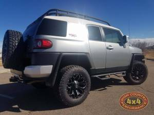 "2012 TOYOTA FJ CRUISER TOYTEC 3"" BOSS SUSPENSION ON 33"" TOYO A/TII TIRES (BUILD#85566)"