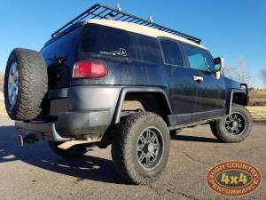 "2007 TOYOT FJ CRUISER TOYTEC 3"" BOSS SUSPENSION WITH ARB DELUXE BUMPER(BUILD#85355)"