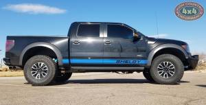 2014 FORD RAPTOR SHELBY WITH CUSTOM ADD BUMPERS AND KING SUSPENSION (BUILD#85428/85378/8502)