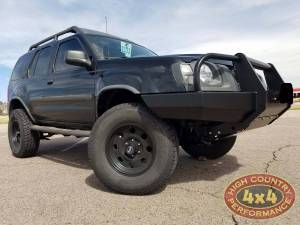 "NISSAN - XTERRA (2000-2004) - HCP 4x4 Vehicles - 2004 NISSAN XTERRA CALMINI 3"" SUSPENSION LIFT AND FRONT BUMPER (BUILD#83924/84852)"