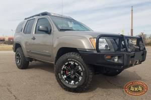 2008 NISSAN XTERRA BILSTEIN RHA STRUTS/SHOCKS  LEVELED WITH ARB DELUXE FRONT BUMPER (BUILD#85501/35140)