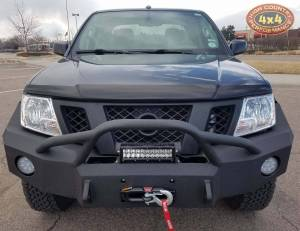 "HCP 4x4 Vehicles - 2013 NISSAN FRONTIER DAYSTAR 2"" LEVELING KIT WITH IRON BULL BUMPERS (BUILD#83815) - Image 2"