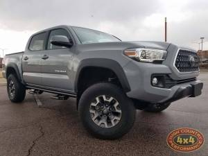 "TOYOTA - TOYOTA TACOMA (2017-2018) - HCP 4x4 Vehicles - 2018 TOYOTA TACOMA READYLIFT 3"" FRONT 1"" REAR SUSPENSION LIFT (BUILD#85488)"