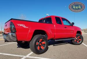 "HCP 4x4 Vehicles - 2006 TOYOTA TACOMA TOYTEC BOSS 3"" COILOVER SUSPENSION ON RED ROCKSTAR WHEELS (BUILD#62888) - Image 4"