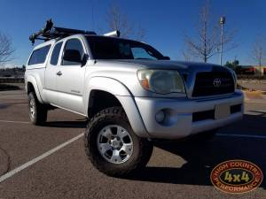 "TOYOTA - TOYOTA TACOMA (2005-2016) - HCP 4x4 Vehicles - 2005 TOYOTA TACOMA TOYTEC 3"" BOSS SUSPENSION WITH SPC UCA'S (BUILD#85719)"