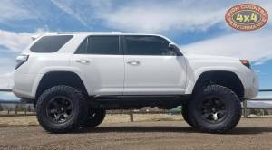 "HCP 4x4 Vehicles - 2018 TOYOTA 4RUNNER FABTECH 6"" COILOVER CONVERSION ON 35"" NITTO TRAIL GRAPPLER TIRES (BUILD#85645) - Image 4"