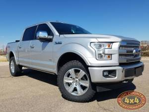 "FORD - FORD F150 TRUCKS (2015-2017) - HCP 4x4 Vehicles - 2017 FORD F150 BILSTEIN 5100 RHA LEVELED WITH 1.5"" REAR ADD-A-LEAFS (BUILD#85450)"