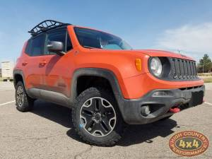 "JEEP - JEEP RENEGADE (2014-2018) - HCP 4x4 Vehicles - 2017 JEEP RENEGADE TRAIL HAWK TERAFLEX 1.5"" SPACER LIFT ON BFGOODRICH TA KO2 TIRES (BUILD#85987)"