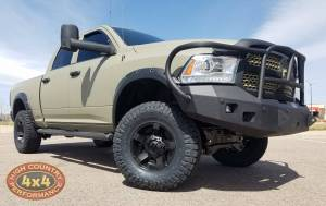 "RAM - DODGE RAM 1500 PICKUP TRUCKS (2013-2018) - HCP 4x4 Vehicles - 2014 DODGE RAM 1500 ZONE OFFROAD 6"" LIFT ON 35"" NITTO RIDGEGRAPPLER TIRES (BUILD#85948)"