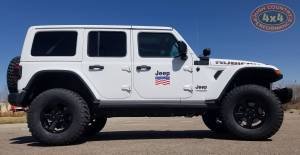 2017 JEEP JLR RUBICON WHITE
