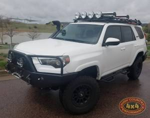 """2017 TOYOTA 4RUNNER TOYTEC BOSS 3"""" COILOVER SUSPENSION WITH SPC UCA'S SNORKEL AND LOCKERS (BUILD#84691)"""