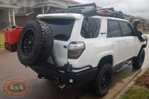 "2017 TOYOTA 4RUNNER TOYTEC BOSS 3"" COILOVER SUSPENSION WITH SPC UCA'S SNORKEL AND LOCKERS (BUILD#84691)"
