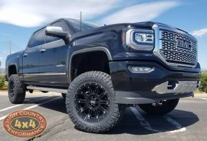 "HCP 4x4 Vehicles - 2018 GMC SIERRA 1500 FABTECH 6"" SUSPENSION LIFT ON 35"" NITTO RIDGEGRAPPLERS (BUILD#86404) - Image 3"
