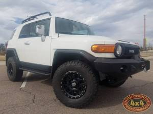 "HCP 4x4 Vehicles - 2013 TOYOTA FJ CRUISER TOYTEC BOSS 3"" LIFT W/ SPC UCA'S EXPEDITION ONE FRONT BUMPER(BUIILD#81359/76689) - Image 1"