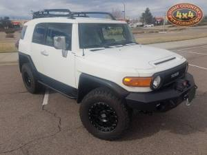 "HCP 4x4 Vehicles - 2013 TOYOTA FJ CRUISER TOYTEC BOSS 3"" LIFT W/ SPC UCA'S EXPEDITION ONE FRONT BUMPER(BUIILD#81359/76689) - Image 2"