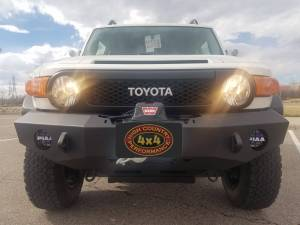 "HCP 4x4 Vehicles - 2013 TOYOTA FJ CRUISER TOYTEC BOSS 3"" LIFT W/ SPC UCA'S EXPEDITION ONE FRONT BUMPER(BUIILD#81359/76689) - Image 3"
