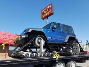 HCP 4x4 Vehicles - 2008 JEEP JK SNOW MACHINE