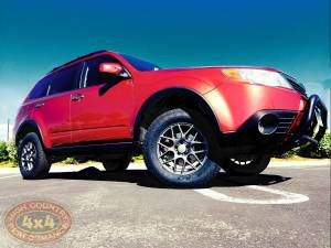 """SUBARU - FORESTER 3RD GEN (2009-2013) - HCP 4x4 Vehicles - 2010 SUBARU FORESTER ADF 2"""" LIFT KIT (BUILD#86711)"""