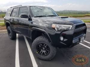 "TOYOTA - TOYOTA 4RUNNER 5TH GENERATION (2010-2018) - HCP 4x4 Vehicles - 2018 TOYOTA 4RUNNER TOYTEC LIFTS 3"" BOSS SUSUPENSION SPC UPPER ARMS ON 33"" BFGS (BUILD#88372)"