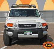 2010 FJ Cruiser with Rigid Industries LED lights Cover