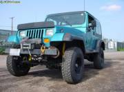 """1989 YJ w/ 2.5"""" OME Lift Cover"""