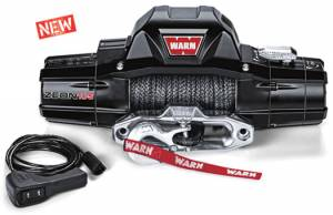 WARN Zeon 10 w/ Spydura Winch Rope