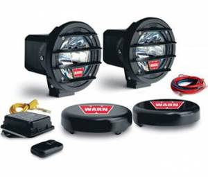 "Lighting - Fog/Driving Lights - WARN - WARN 82400 4"" HID Wireless Driving Lights"