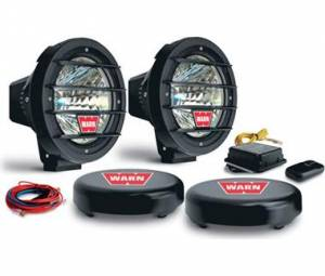 "Lighting - Fog/Driving Lights - WARN - WARN 82405 7"" HID Wireless Driving Lights"