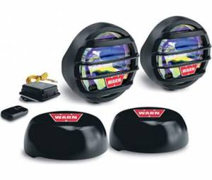 "Lighting - Fog/Driving Lights - WARN - WARN 82410 3.5"" Wireless Fog Lamp Kit"