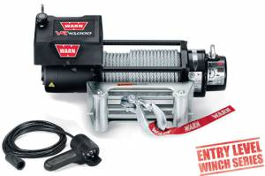 Recovery  - Winches - WARN - WARN VR10000 w/ Steel Cable