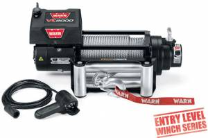 Recovery  - Winches - WARN - WARN VR8000 w/ Steel Cable
