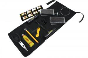 POWERTANK Tire Repair Kit in Roll-Up Bag